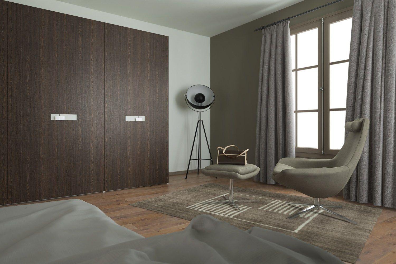 Rivestimento per mobili autoadesivo in PVC effetto legno WENGE' SCURO OPACO by Artesive