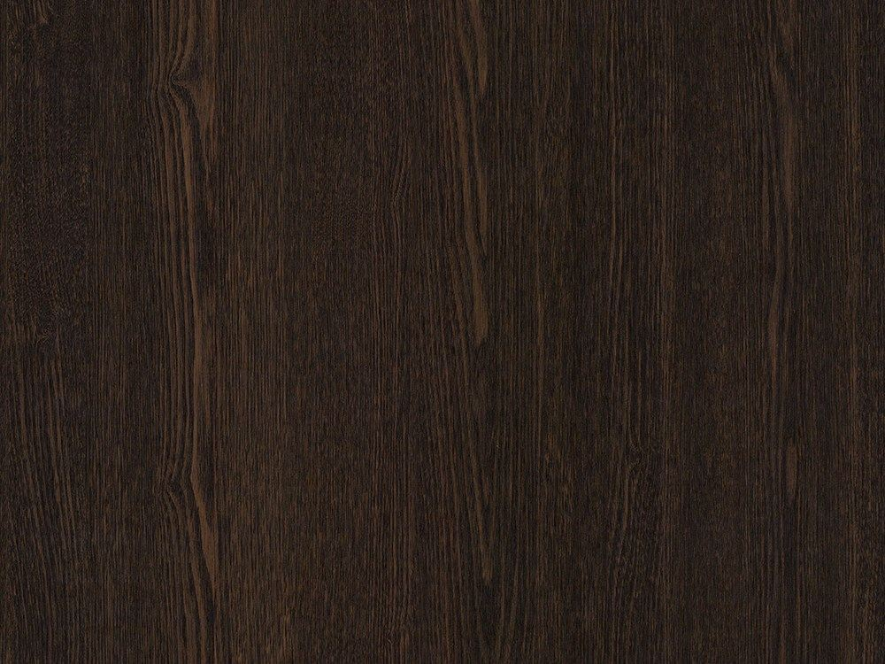 Door sticker with wood effect DARK WENGE OPAQUE by Artesive