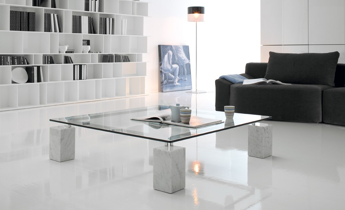 crystal coffee table diellecattelan italia design piero de longhi