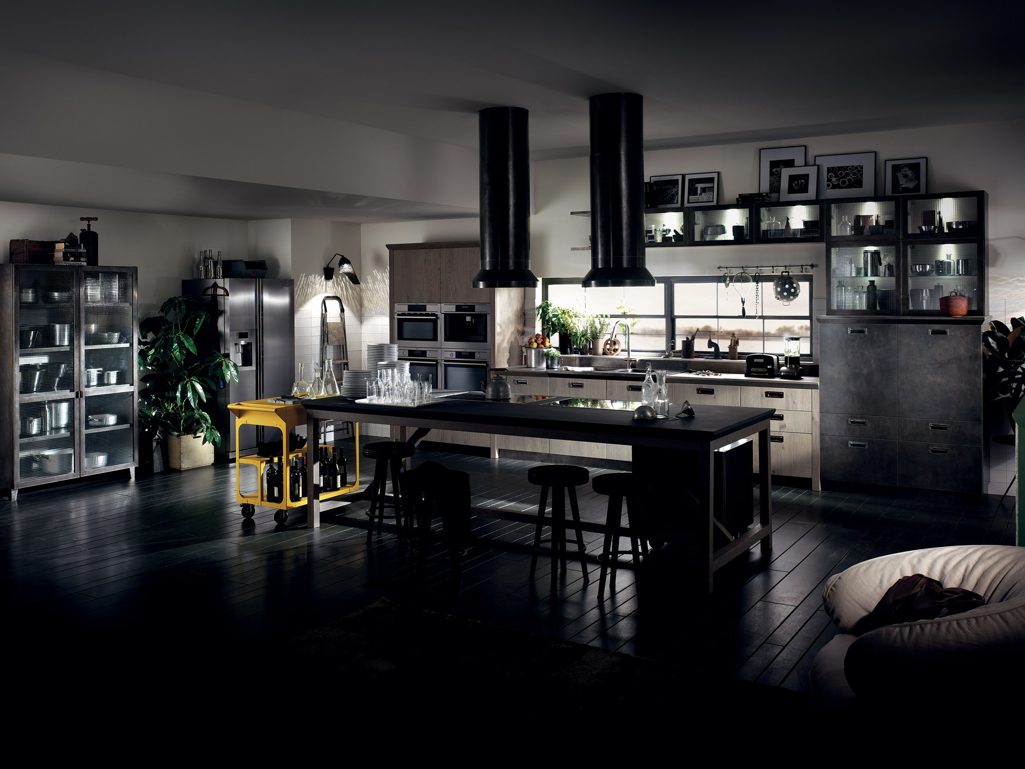 Cucina componibile diesel social kitchen linea scavolini by scavolini design diesel living with - Cucina diesel scavolini ...