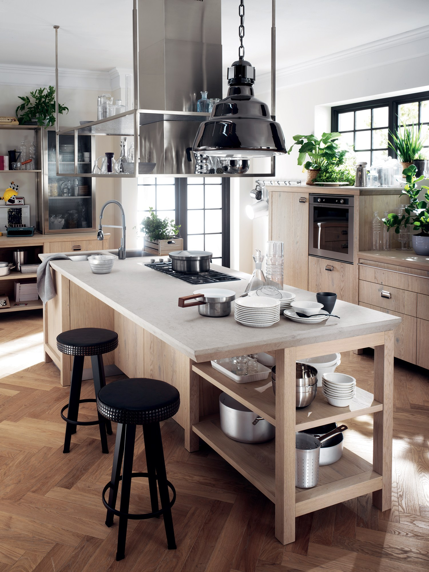 Cucina componibile diesel social kitchen linea scavolini - Scavolini cucine diesel ...