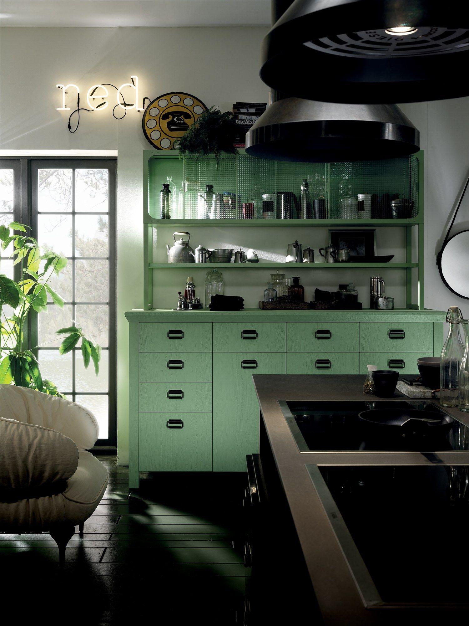 Cucina componibile diesel social kitchen linea scavolini by scavolini design diesel living with - Cucina diesel scavolini ...
