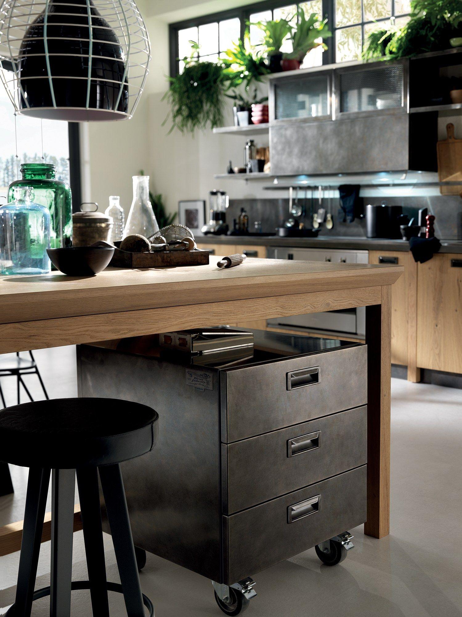 Cucina componibile diesel social kitchen linea scavolini - Cucina diesel scavolini ...