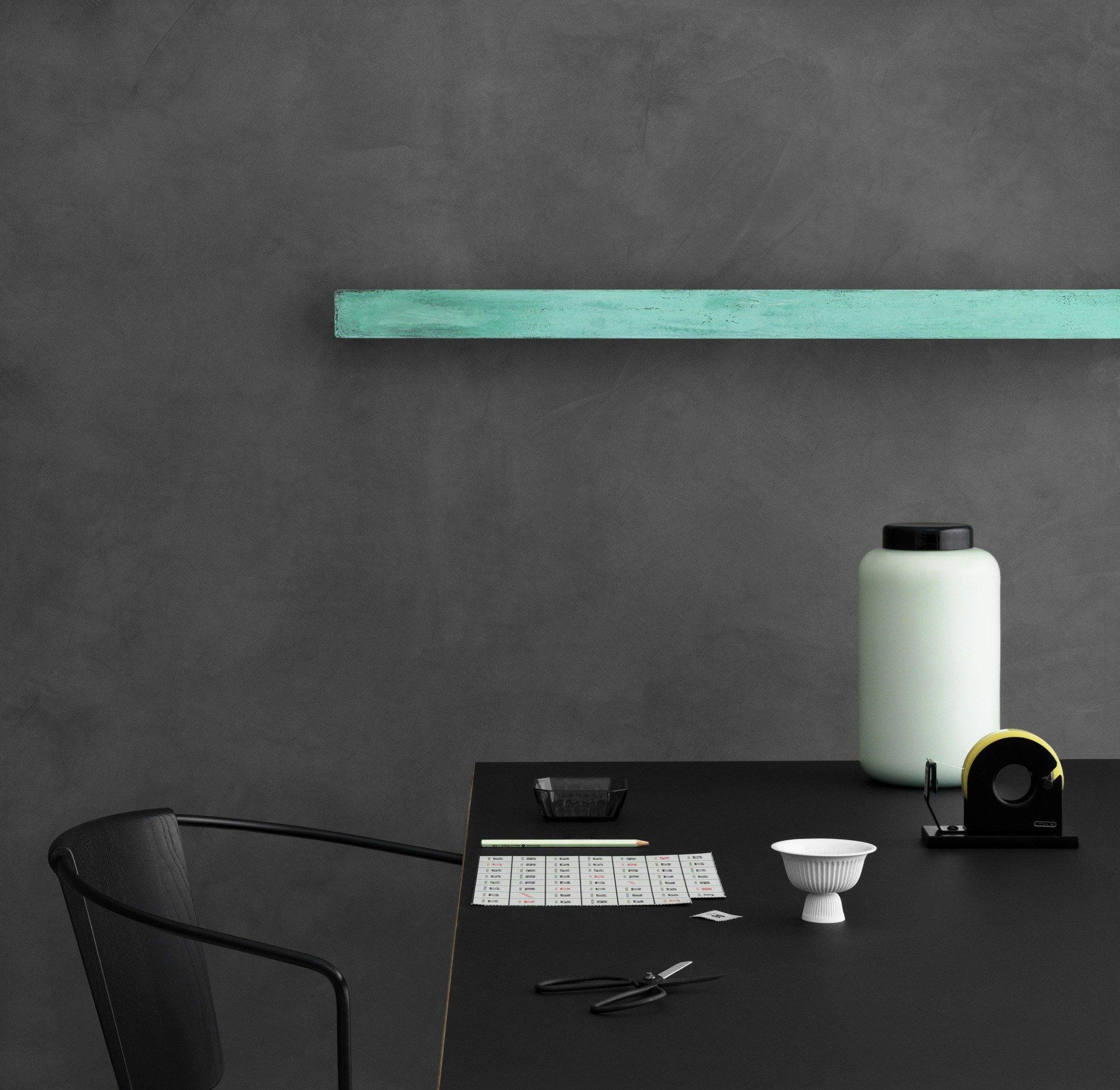DIVAR Lampada da parete in rame by Anour design Arash Nourinejad