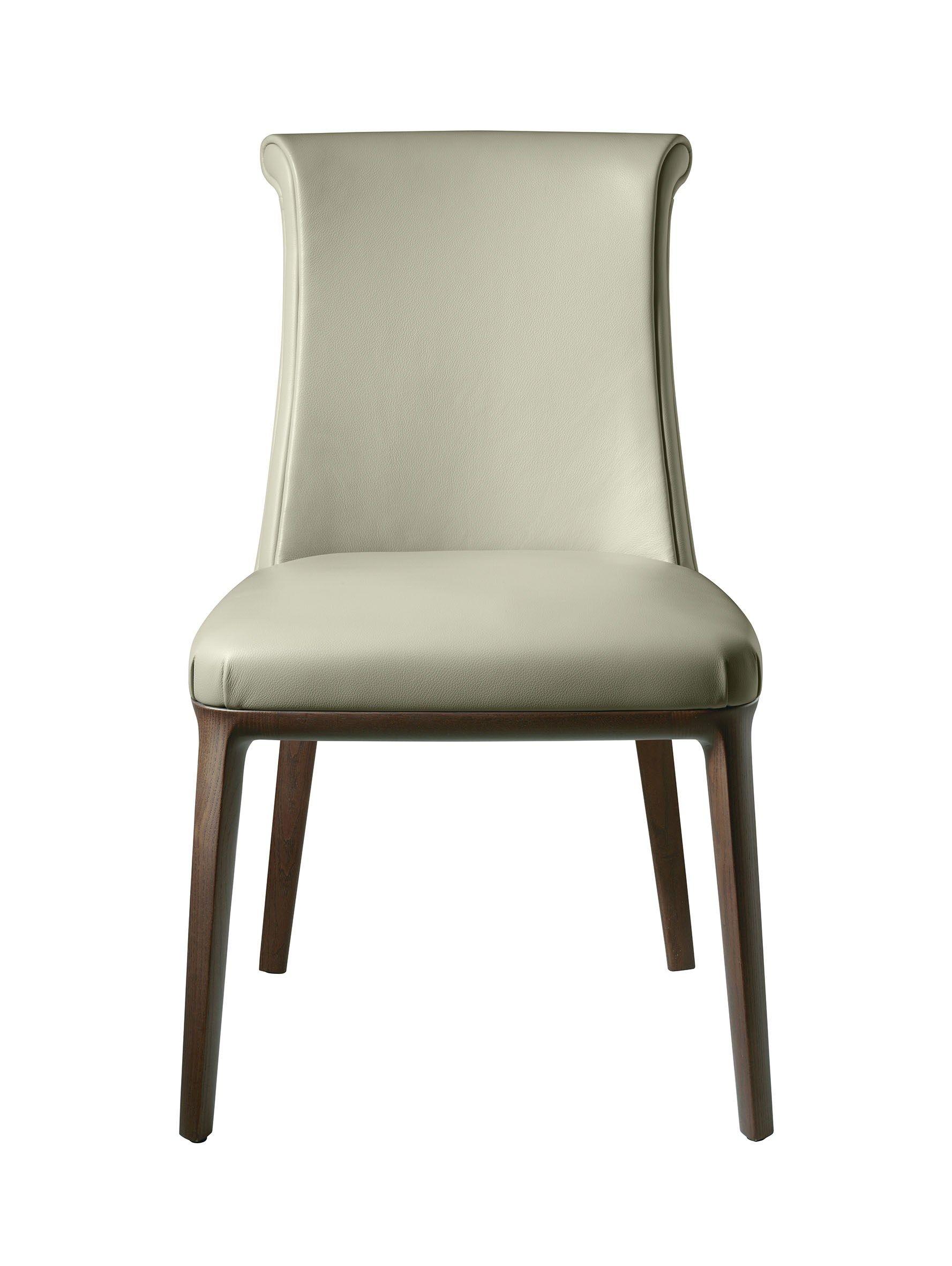 Sedia in pelle diva by poltrona frau design roberto lazzeroni for Sedie a poltrona