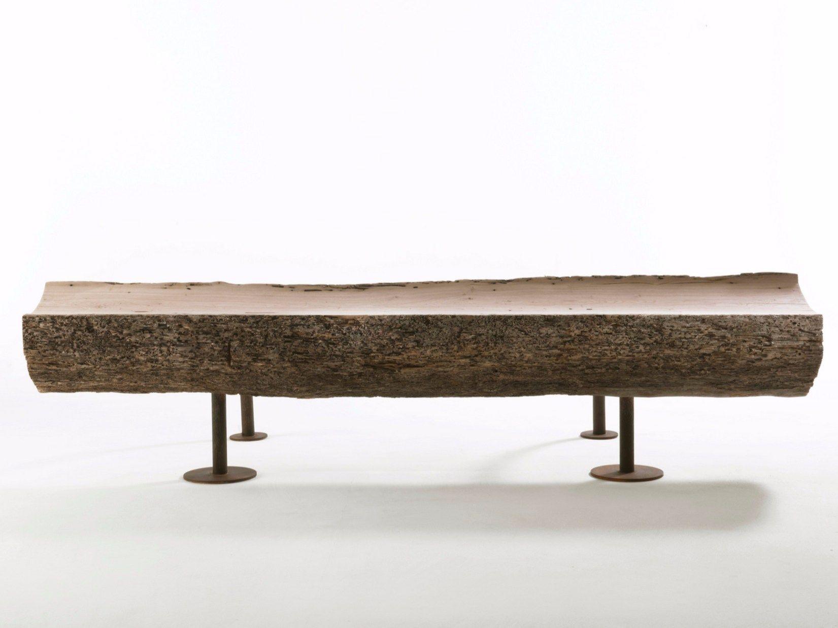 Wooden bench divan by riva 1920 design riccardo arbizzoni for Divan design