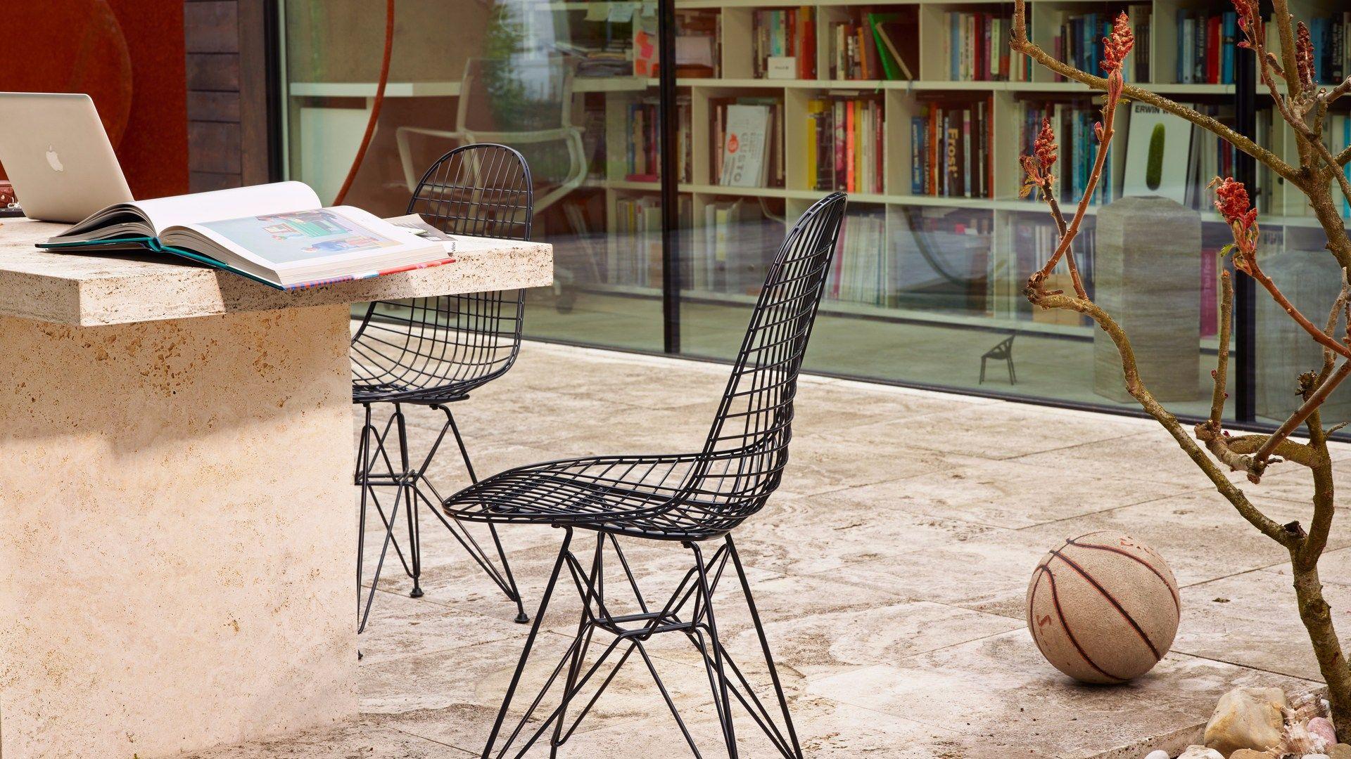 Sedia in metallo DKR Collezione Wire Chair by Vitra design ...