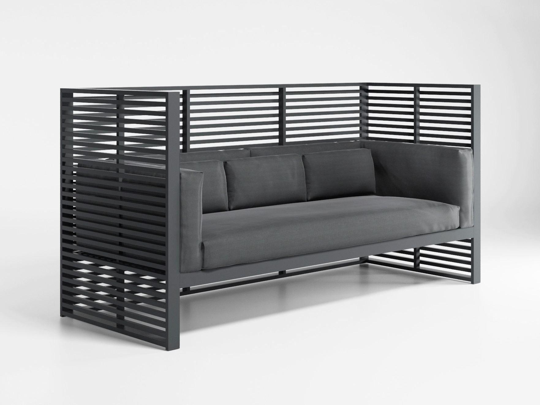 Dna divano con schienale alto by gandia blasco design jos - Divano schienale alto ...