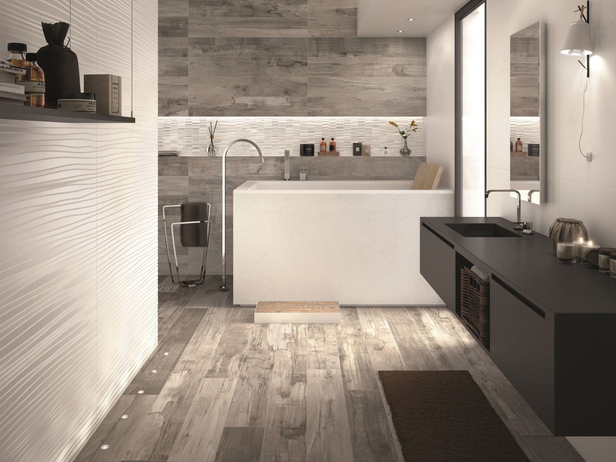 wall porcelain wall tiles do up touch by abk industrie ceramiche. Black Bedroom Furniture Sets. Home Design Ideas