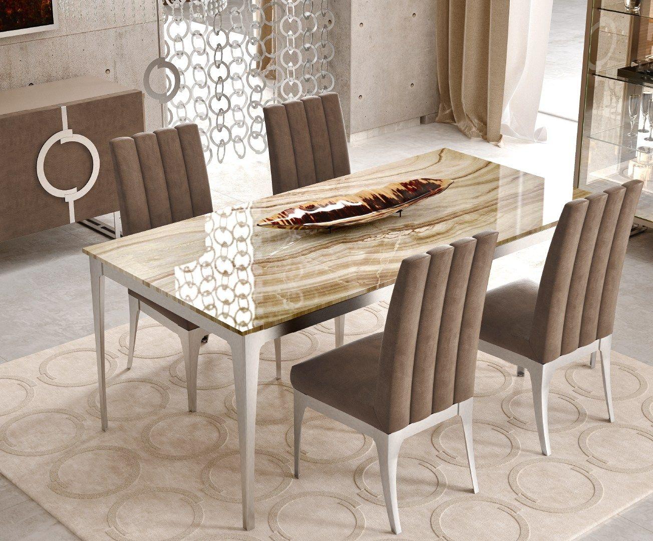 Dolomite tavolo rettangolare collezione concept by caroti for Tavolo rettangolare