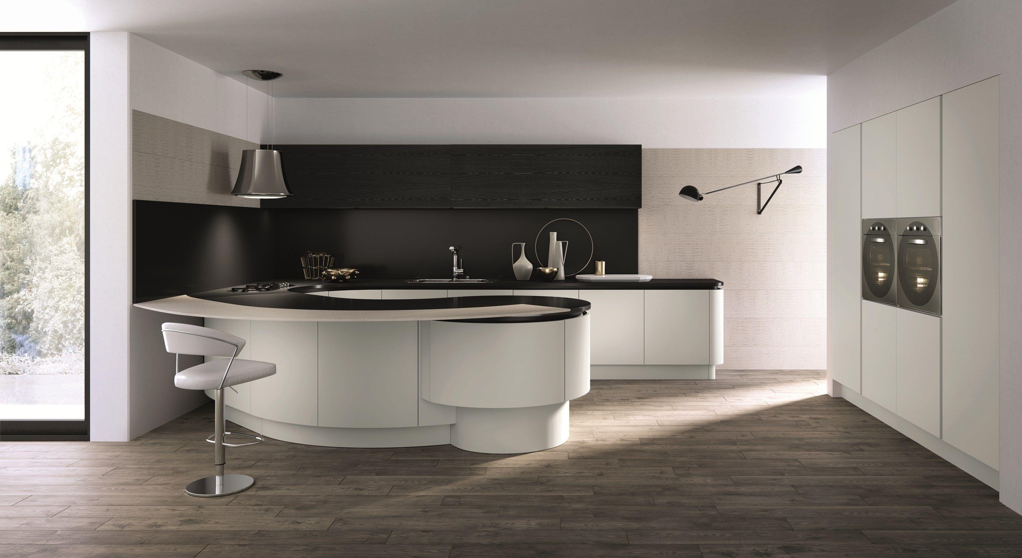 Domina cucina con penisola by aster cucine design lorenzo granocchia
