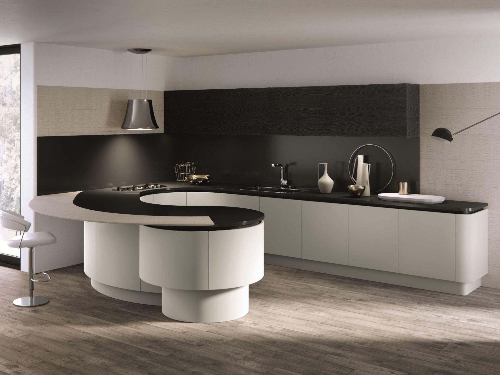 Domina cucina con penisola by aster cucine design lorenzo granocchia - Cucine aster prezzi ...