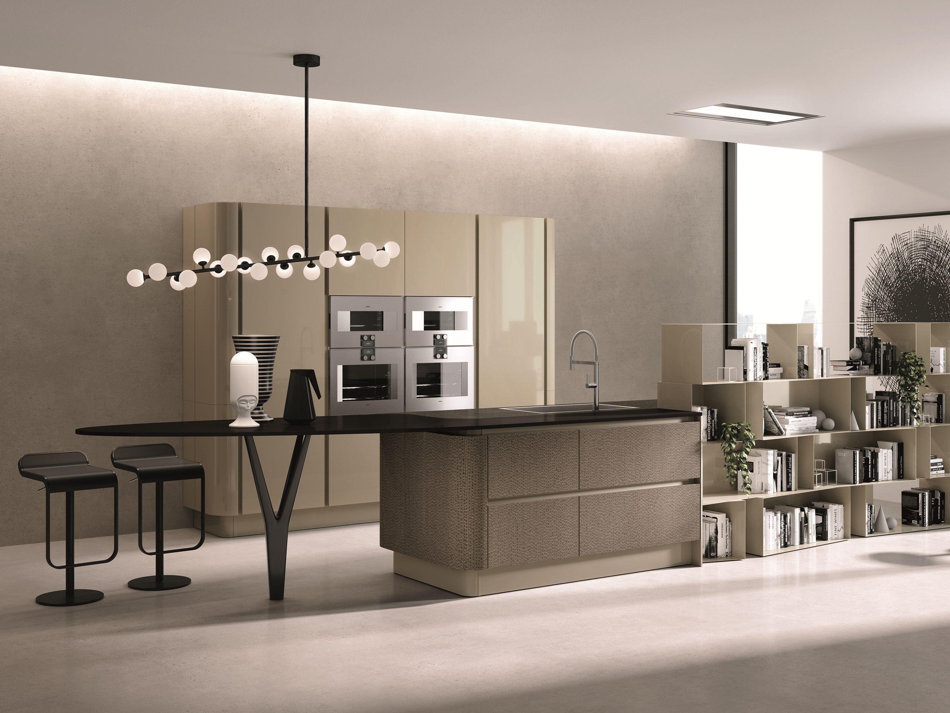 Domina cucina con isola by aster cucine design lorenzo granocchia - Cucine aster prezzi ...