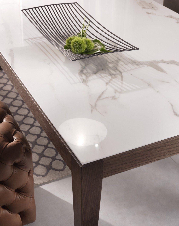 Dominique tavolo in ceramica collezione dominique by pacini ...