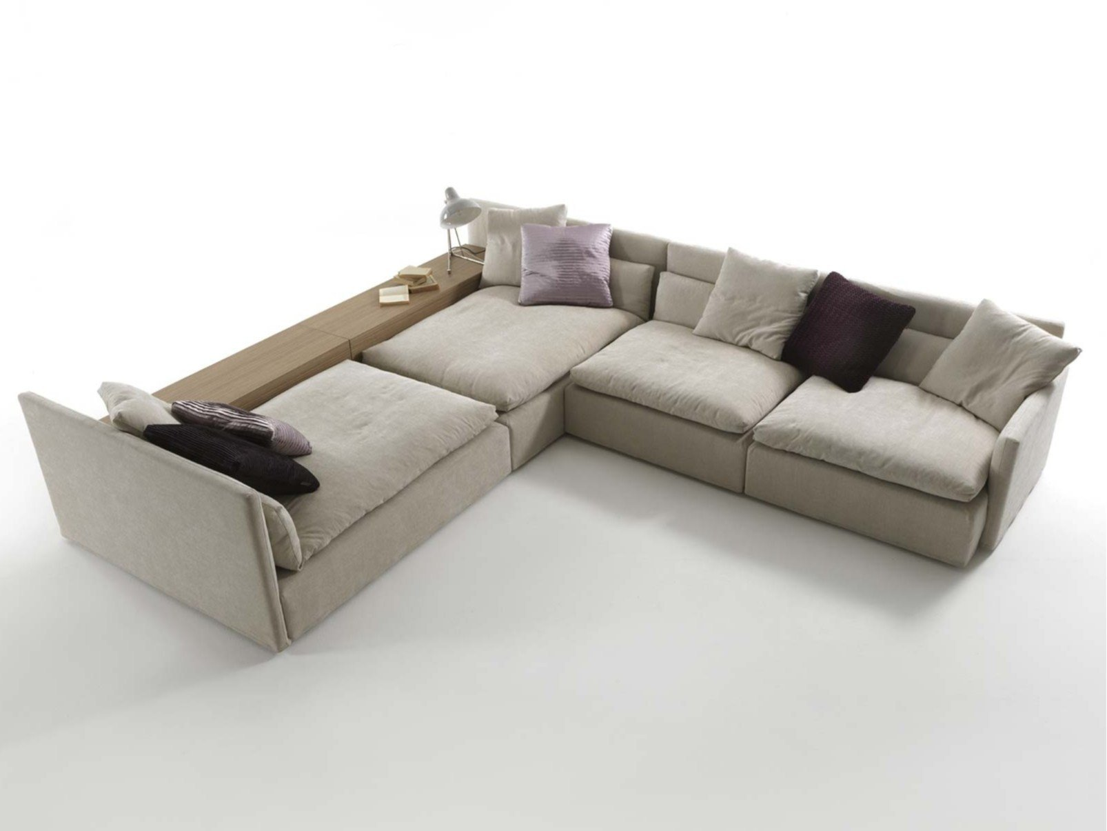 domino fabric sofa by frigerio poltrone e divani