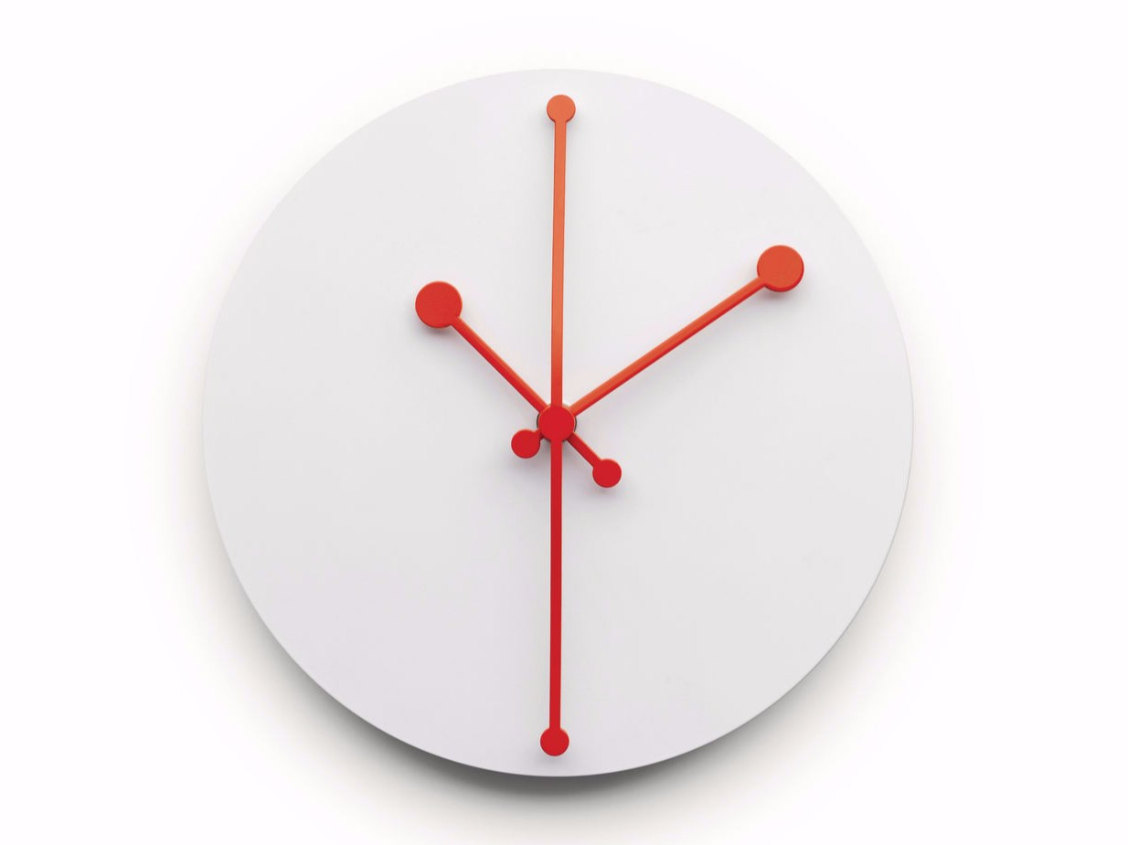 Wall Mounted Clock Dotty Clock By Alessi Design Abi Alice