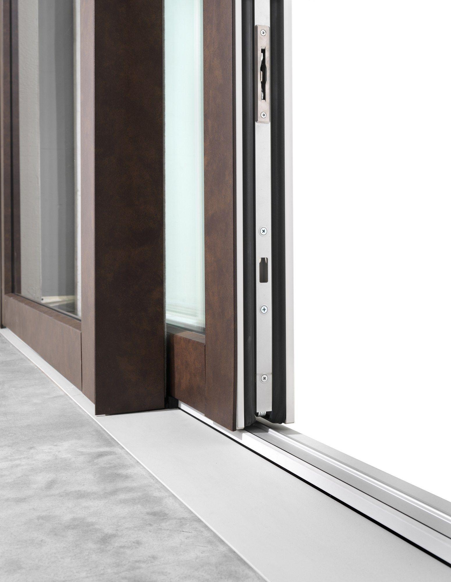 Porta finestra alzante scorrevole in pvc dqg hst by - Porta finestra scorrevole ...
