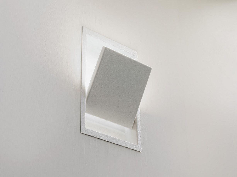 Lampada da incasso a led orientabile drawlight by olev by for Lampade da incasso