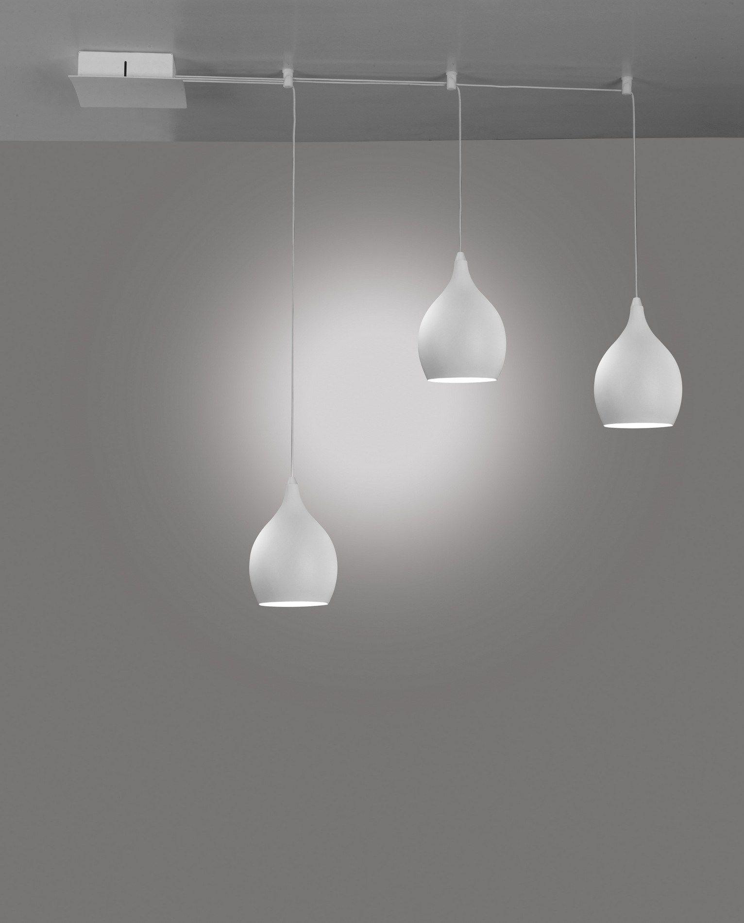 Lampada a sospensione a led drop by cattaneo illuminazione - Lampada sospensione design ...