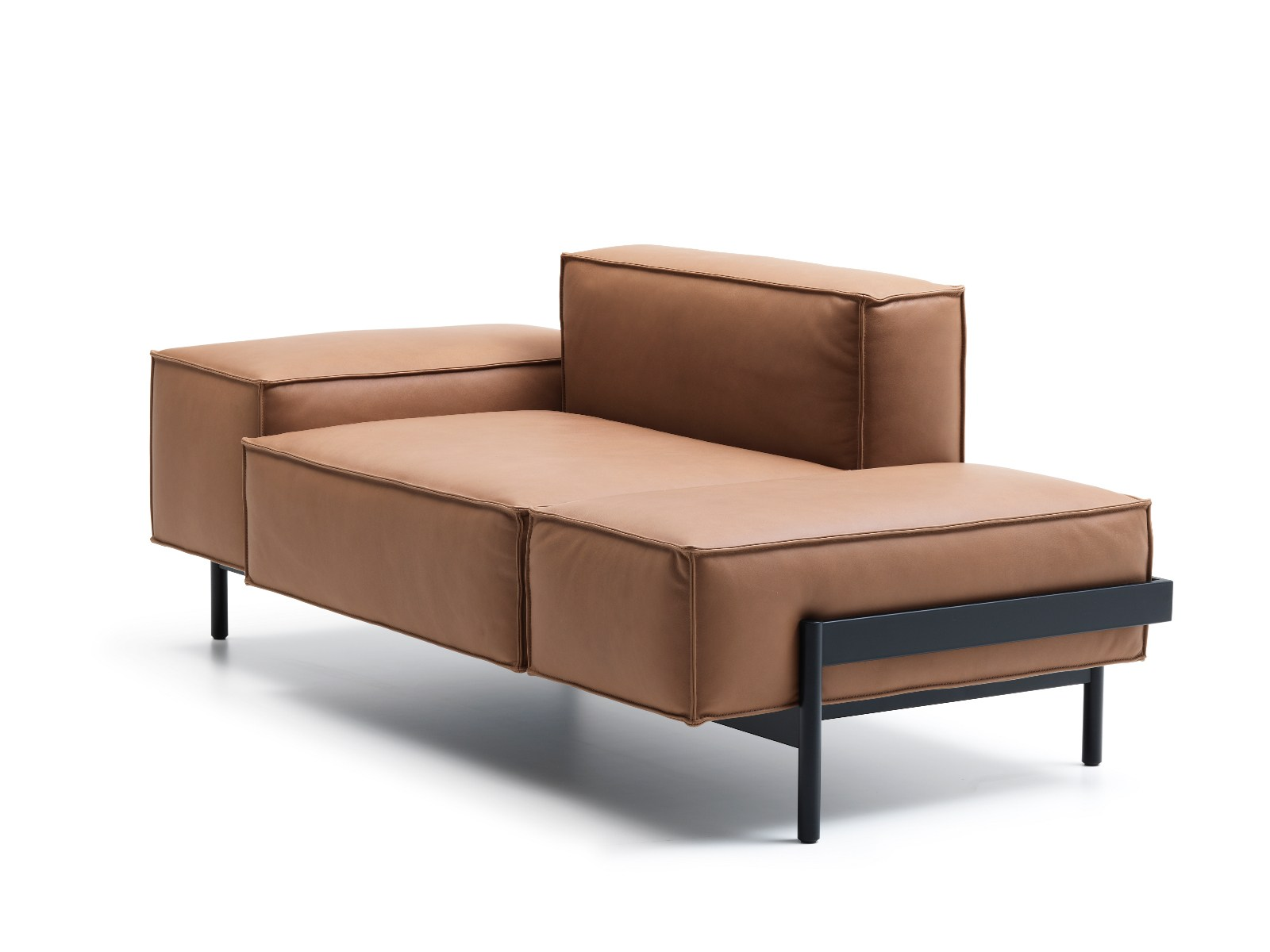 ds 21 leather sofa ds 21 collection by de sede design. Black Bedroom Furniture Sets. Home Design Ideas