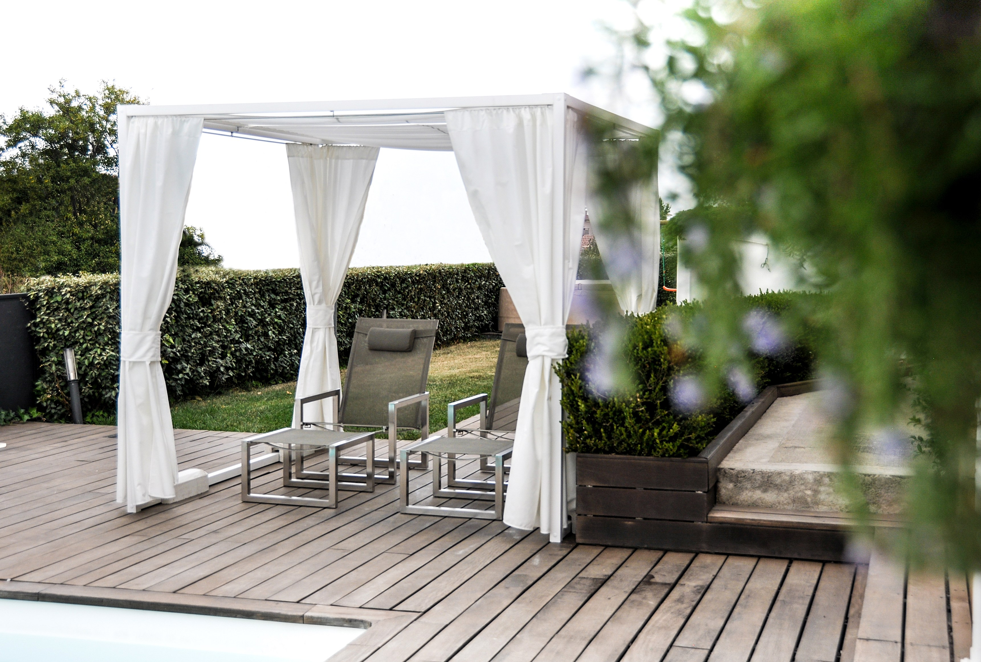 Gartenpavillon Aus Aluminium Duo By Unosider Gartenpavillon Aus Aluminium
