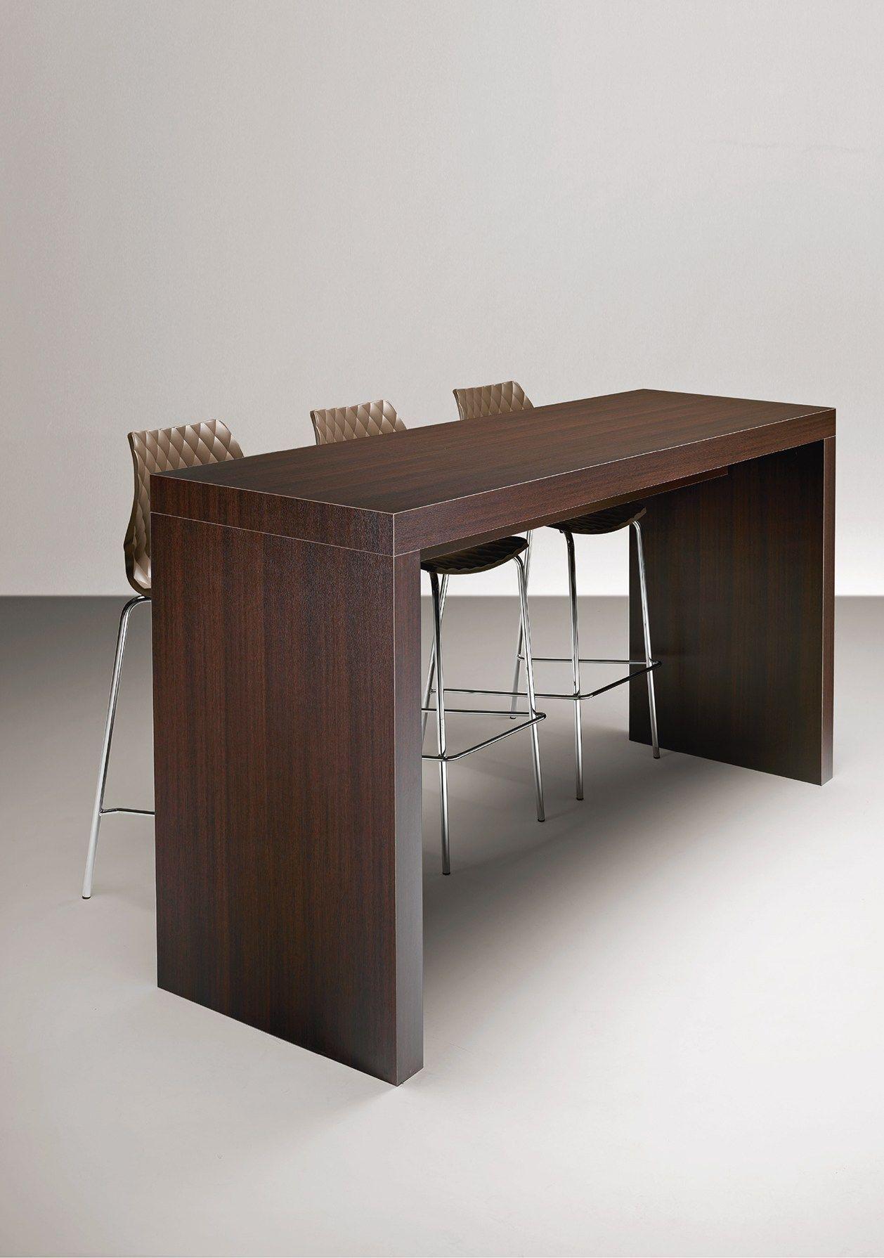 mange debout rectangulaire en stratifi deck 501 a by metalmobil. Black Bedroom Furniture Sets. Home Design Ideas