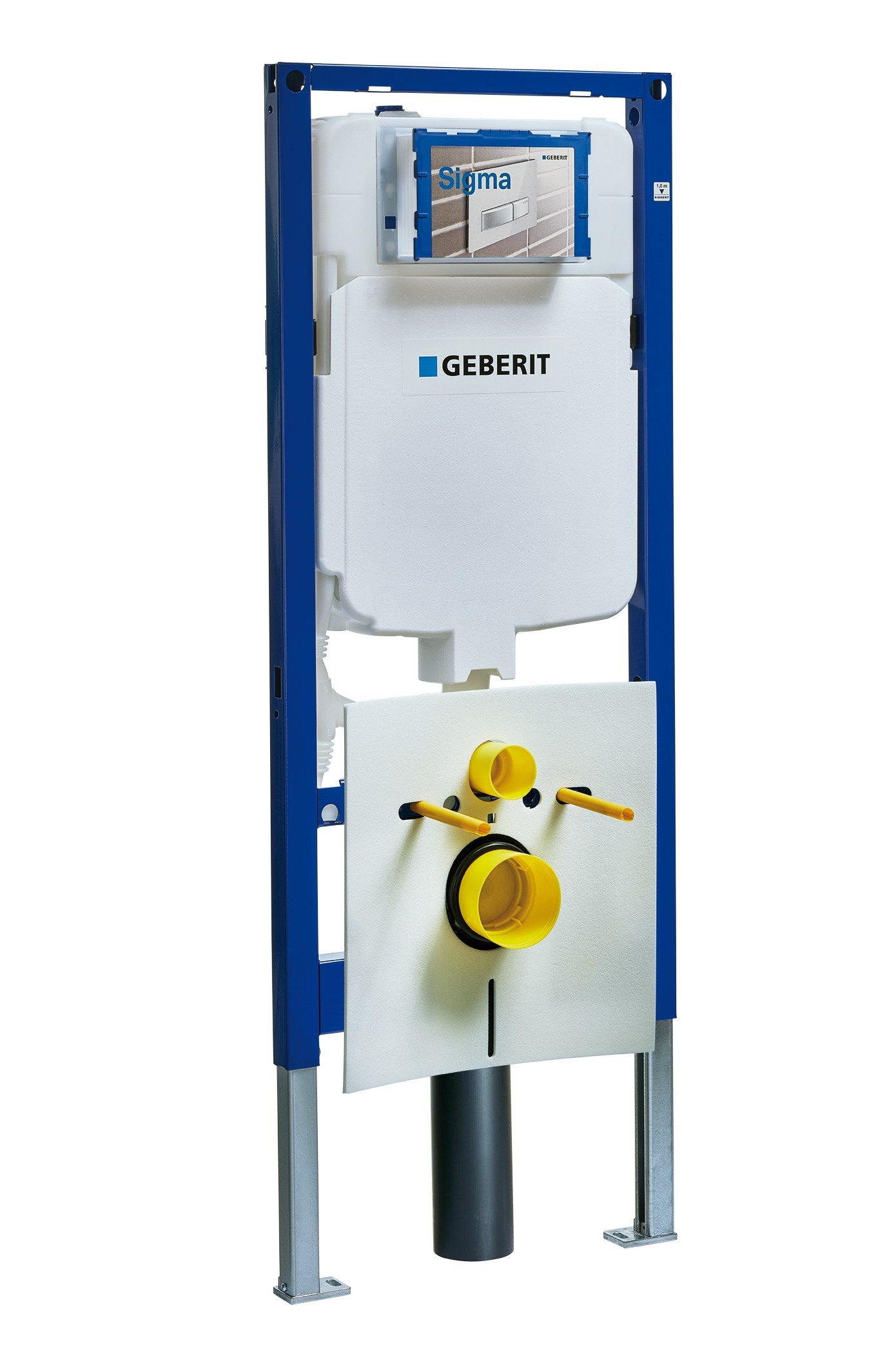 Concealed wc cistern duofix by geberit italia for Geberit toilet system