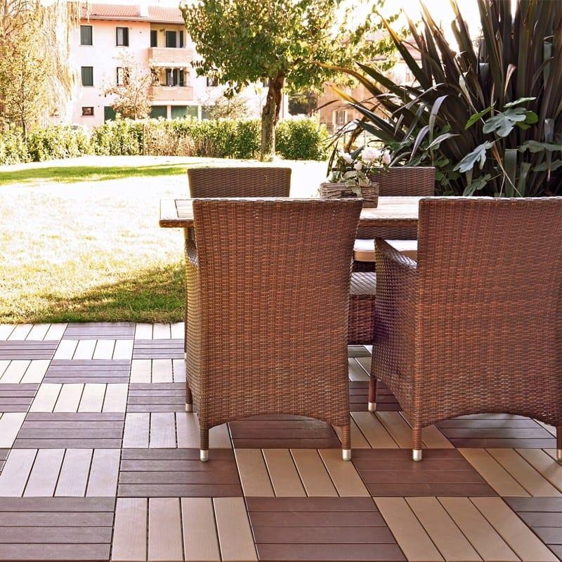 Easyplate baldosas de exterior by pontarolo engineering - Baldosas madera exterior ...