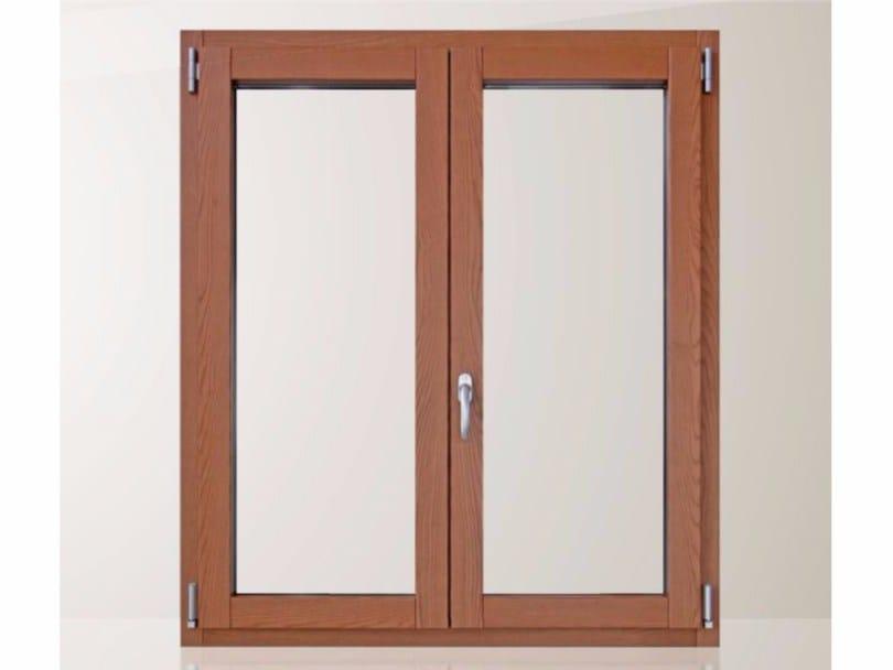 Finestra a battente con doppio vetro in alluminio e legno eco 650 quadra 90 by cos met - Finestre a doppio vetro ...