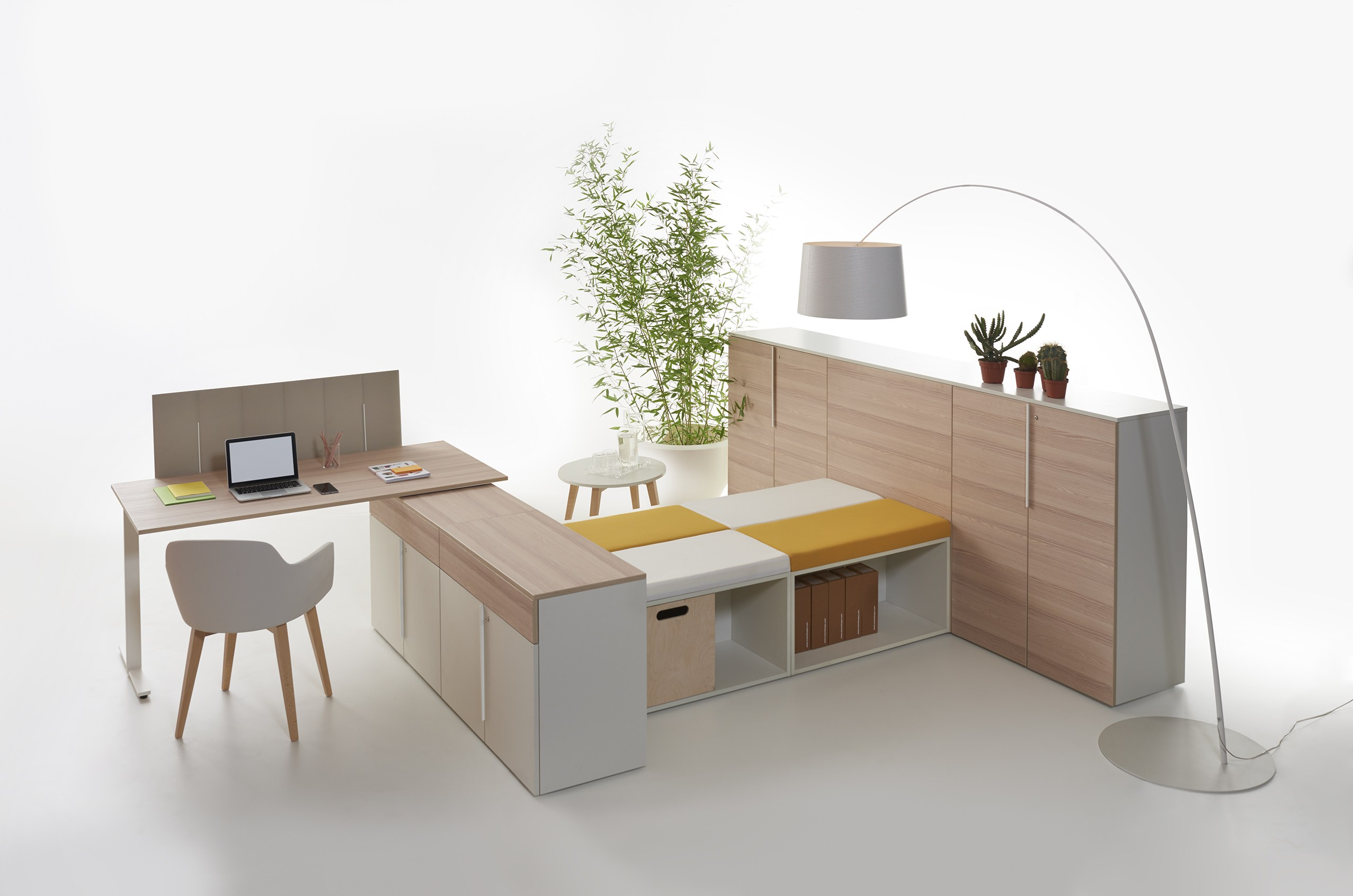 ecodesk panneau s parateur de bureau by slalom. Black Bedroom Furniture Sets. Home Design Ideas