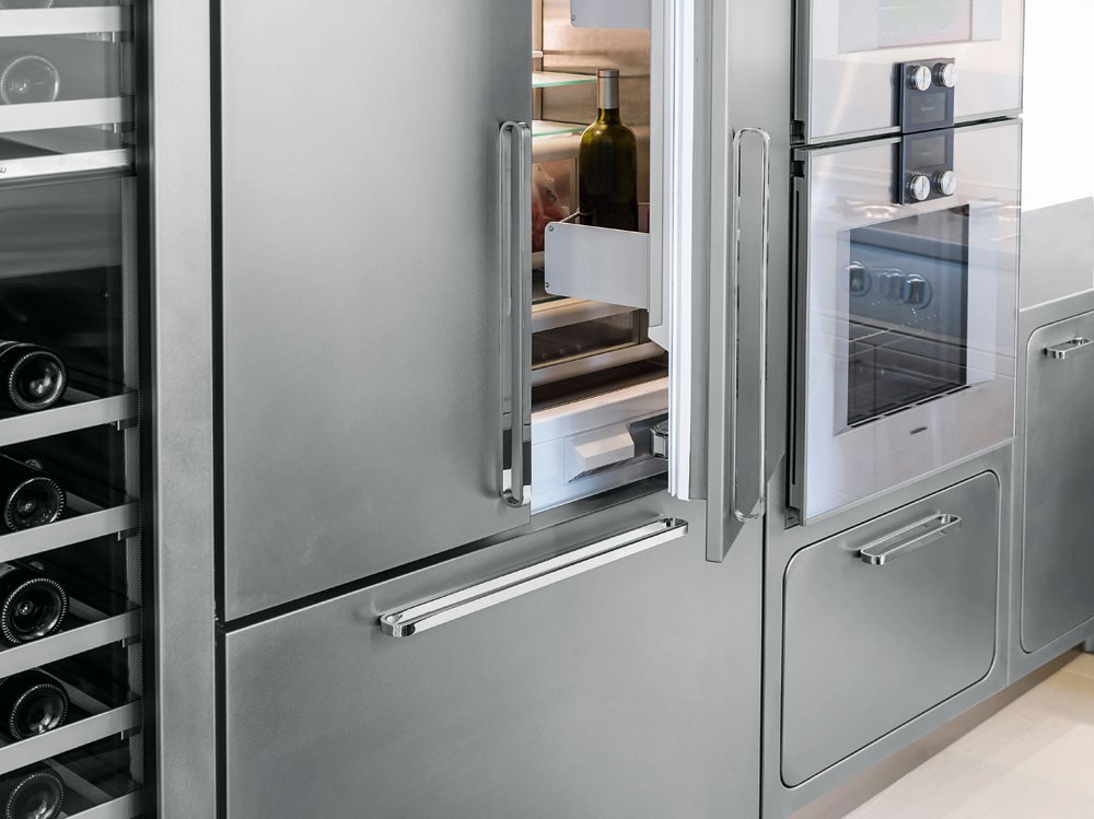 küche aus edelstahl für gewerbe ego by abimis design alberto torsello, Möbel