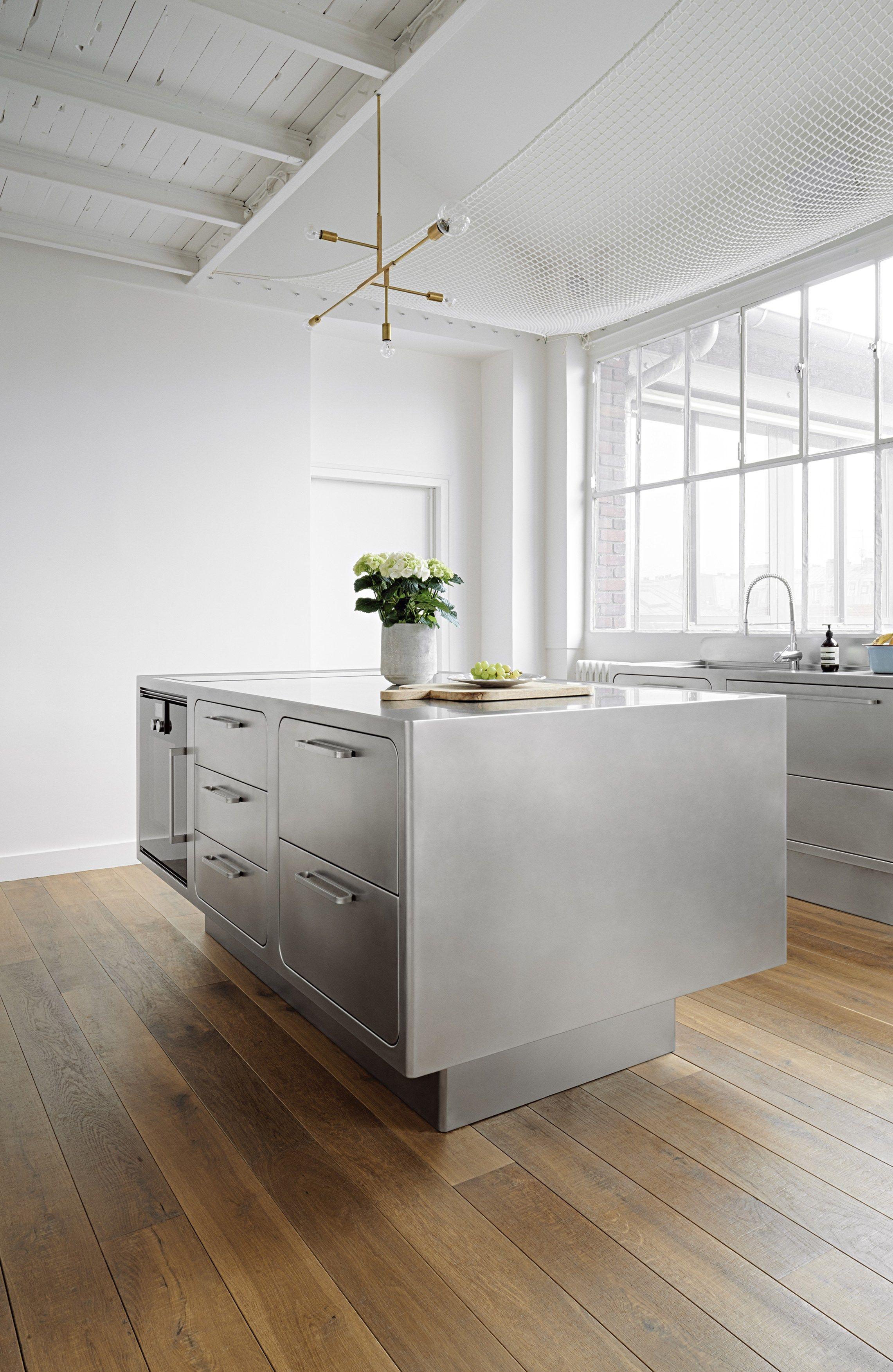 Cozinha de aço inox para uso profissional EGO by ABIMIS by PRISMA  #644B33 2282 3506