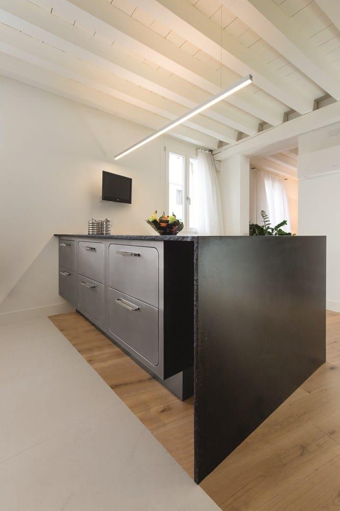 Edelstahl kuche abimis design - Italienische kuchenmobel ...