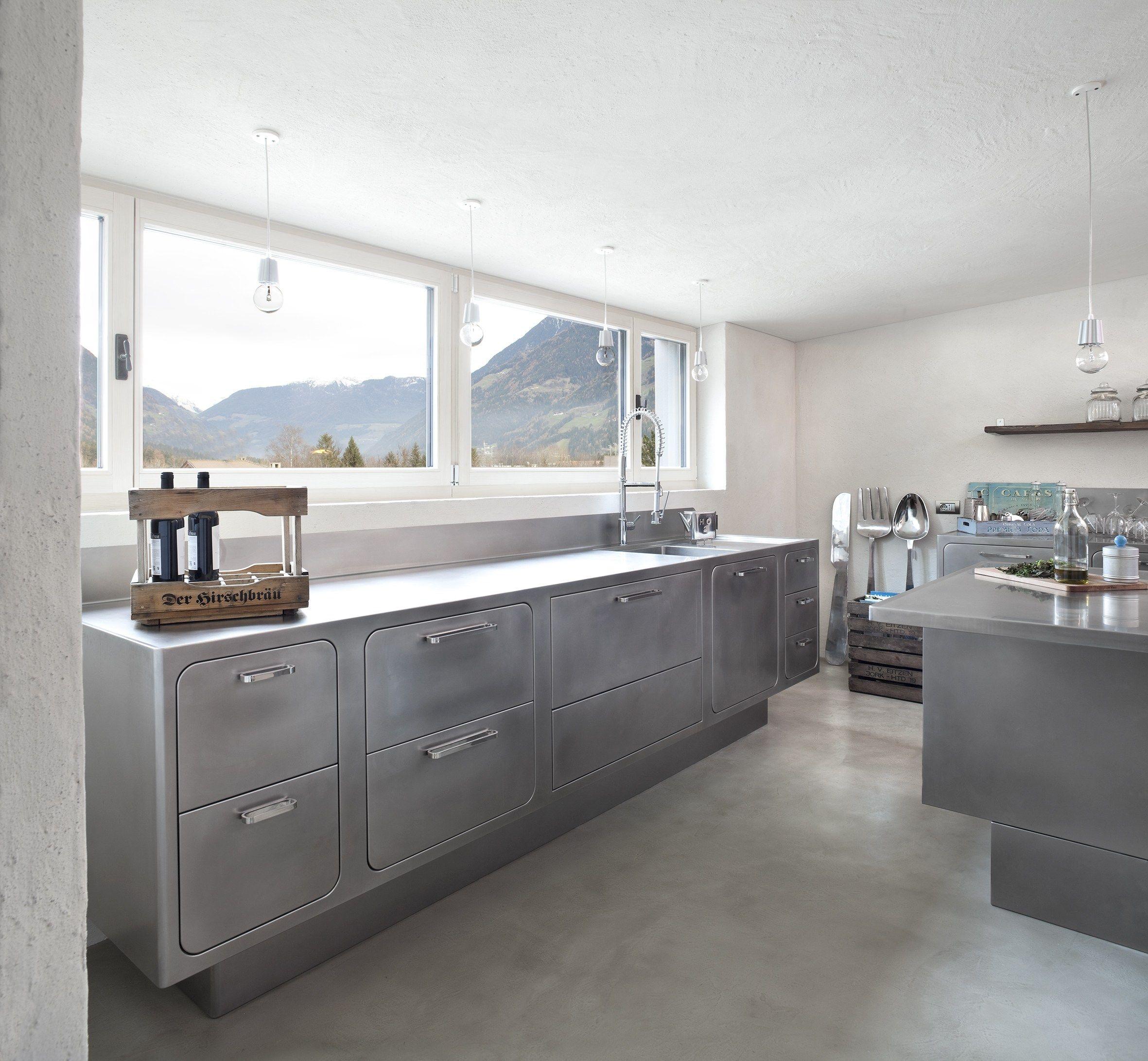 Toll Küche Aus Edelstahl Für Gewerbe Ego By Abimis Design Alberto Torsello,  Modern Dekoo
