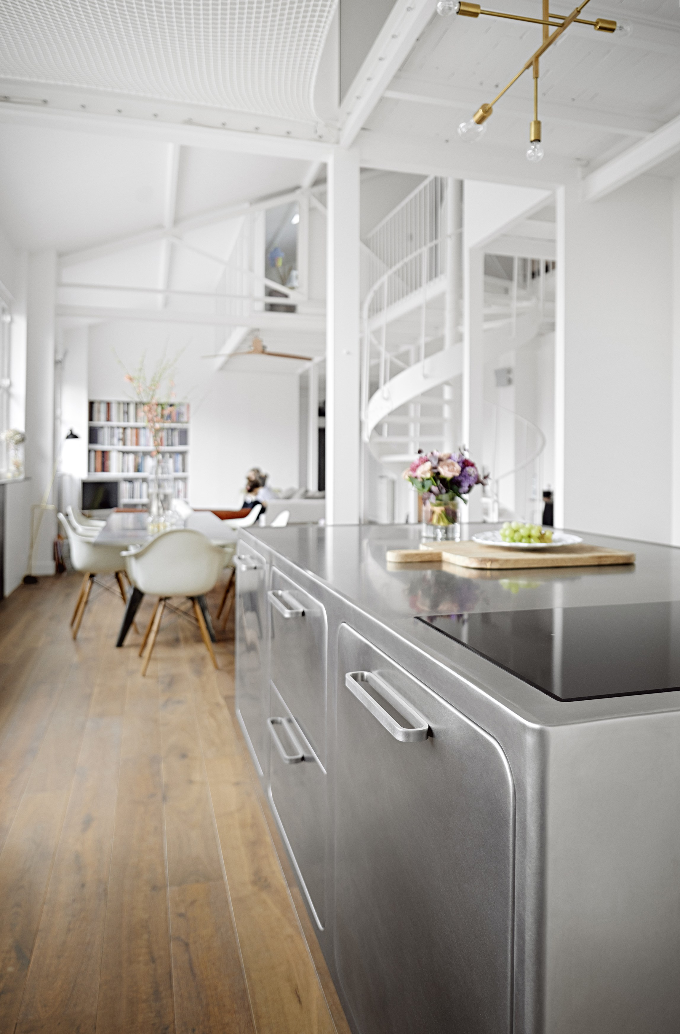 küche aus edelstahl für gewerbe ego by abimis design alberto torsello, Kuchen