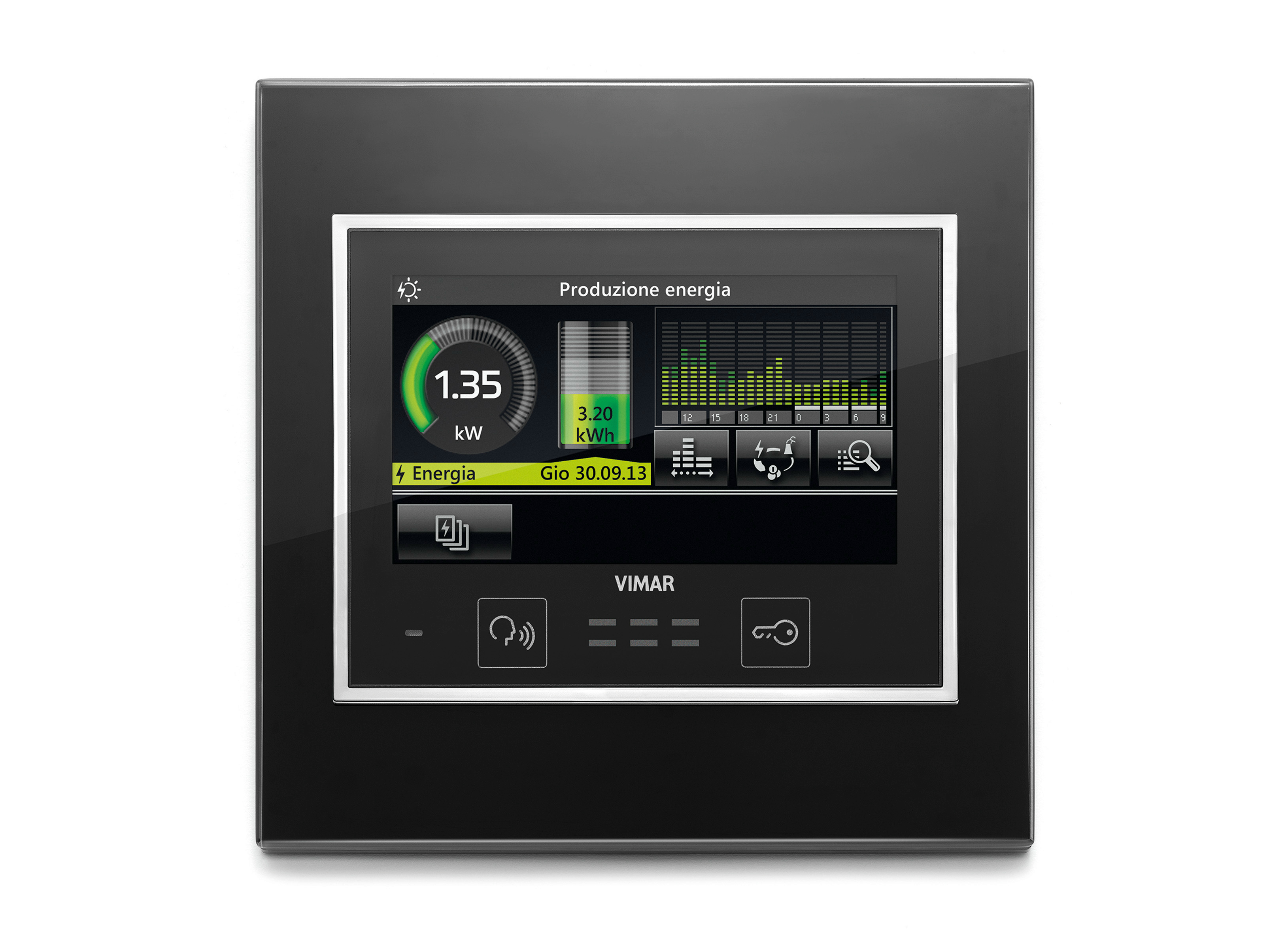 Home automation system for households eikon evo full flat for Home automation system