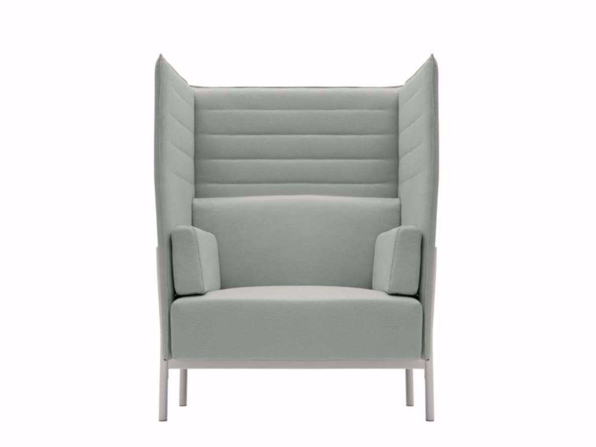 sessel aus stoff mit hoher r ckenlehne eleven high back. Black Bedroom Furniture Sets. Home Design Ideas