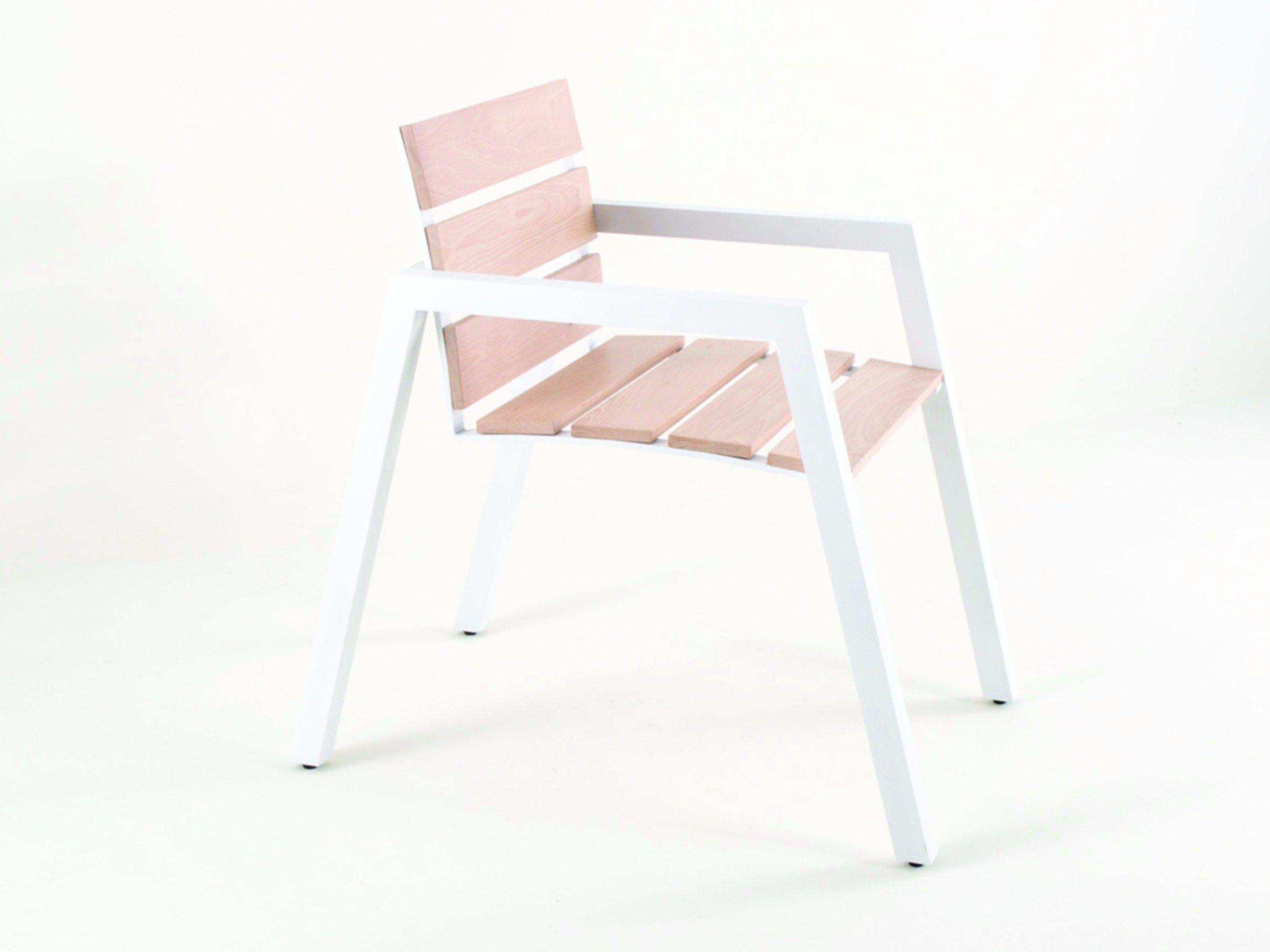 Emily chaise de jardin en aluminium collection emily by for Chaise jardin aluminium