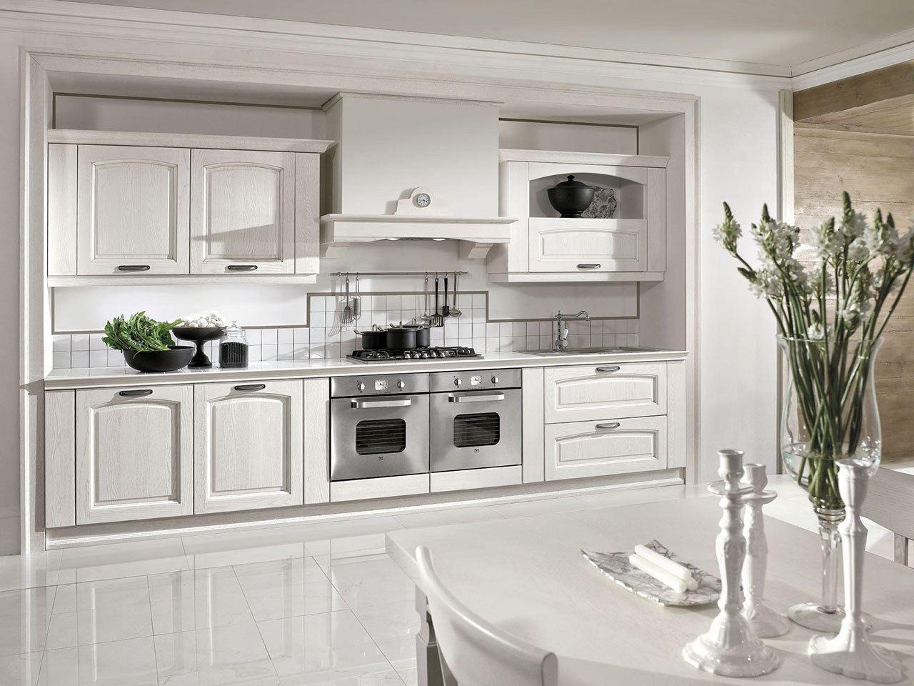 Cucina componibile su misura con maniglie emma by arredo 3 for Cucina arreda