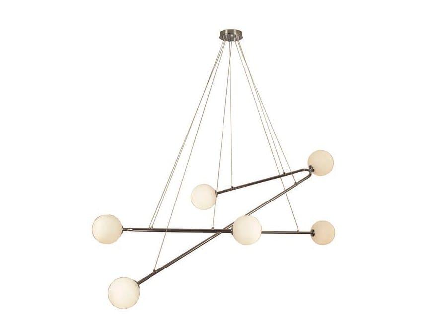 endo lampada a sospensione in metallo by aromas del campo design pepe fornas. Black Bedroom Furniture Sets. Home Design Ideas