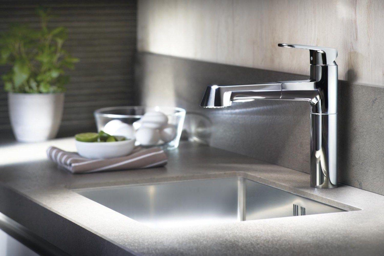 Europlus c miscelatore da cucina con doccetta estraibile - Miscelatore cucina con doccetta ...