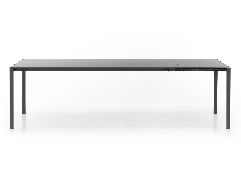 ausziehbarer rechteckiger tisch ext table by mdf italia. Black Bedroom Furniture Sets. Home Design Ideas