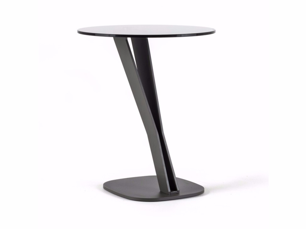 Round Crystal Coffee Table Falco By Cattelan Italia Design