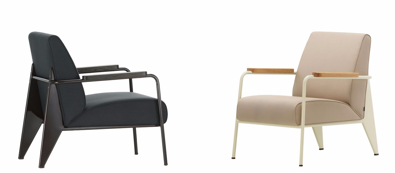Sill n tapizado con brazos fauteuil de salon by vitra for Fauteuil design vitra