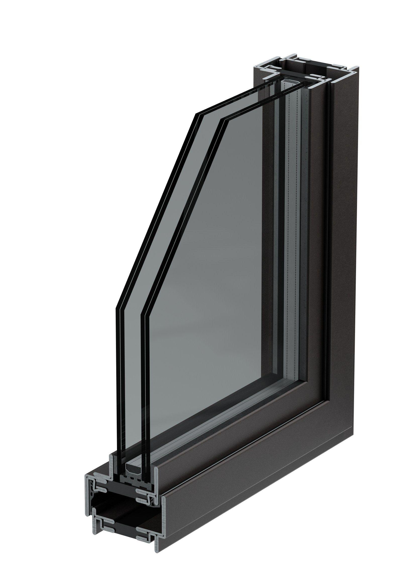 Ferrofinestra taglio termico porta finestra scorrevole by mogs srl unipersonale - Finestre a taglio termico ...