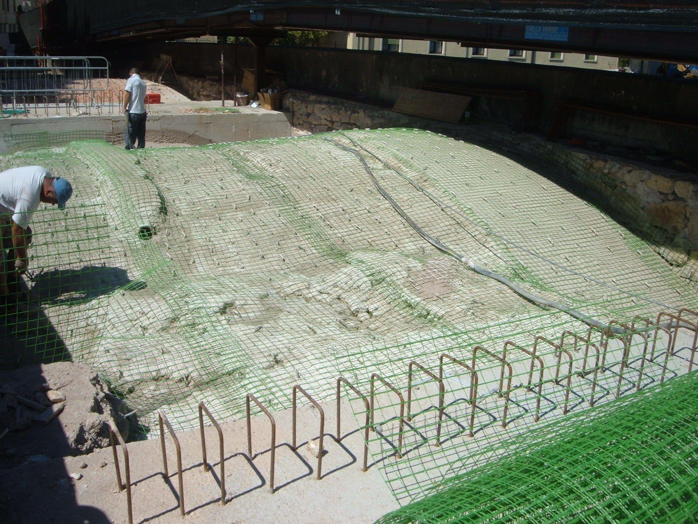 Rete di rinforzo strutturale per murature (GFRP) RI-STRUTTURA by ...