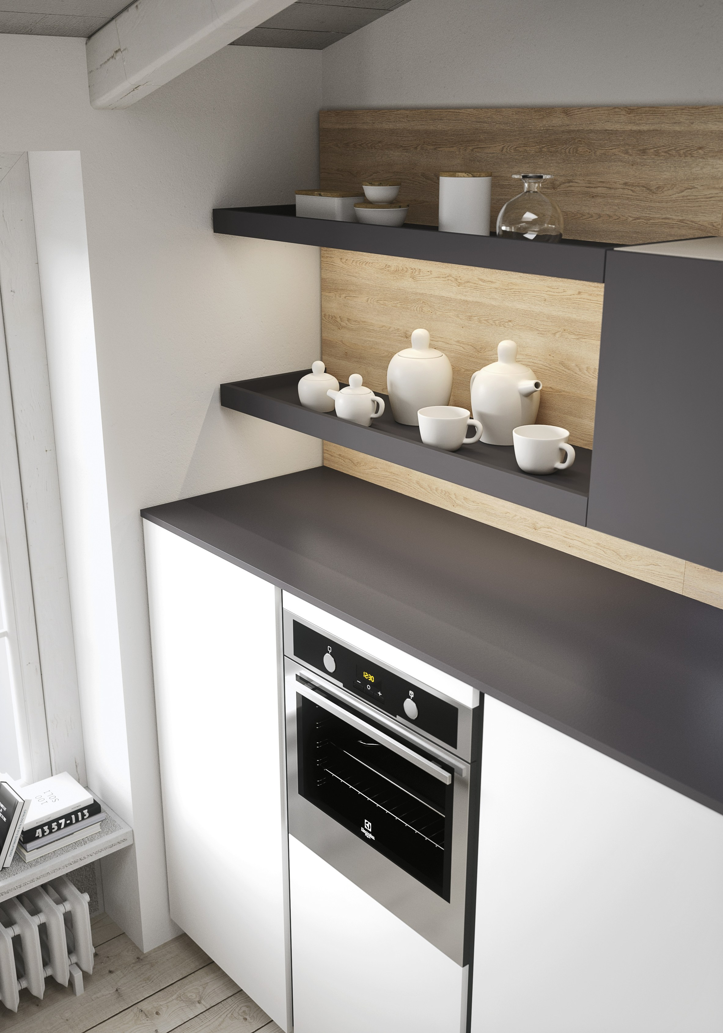 FIRST Cucina in stile moderno by Snaidero design Snaidero