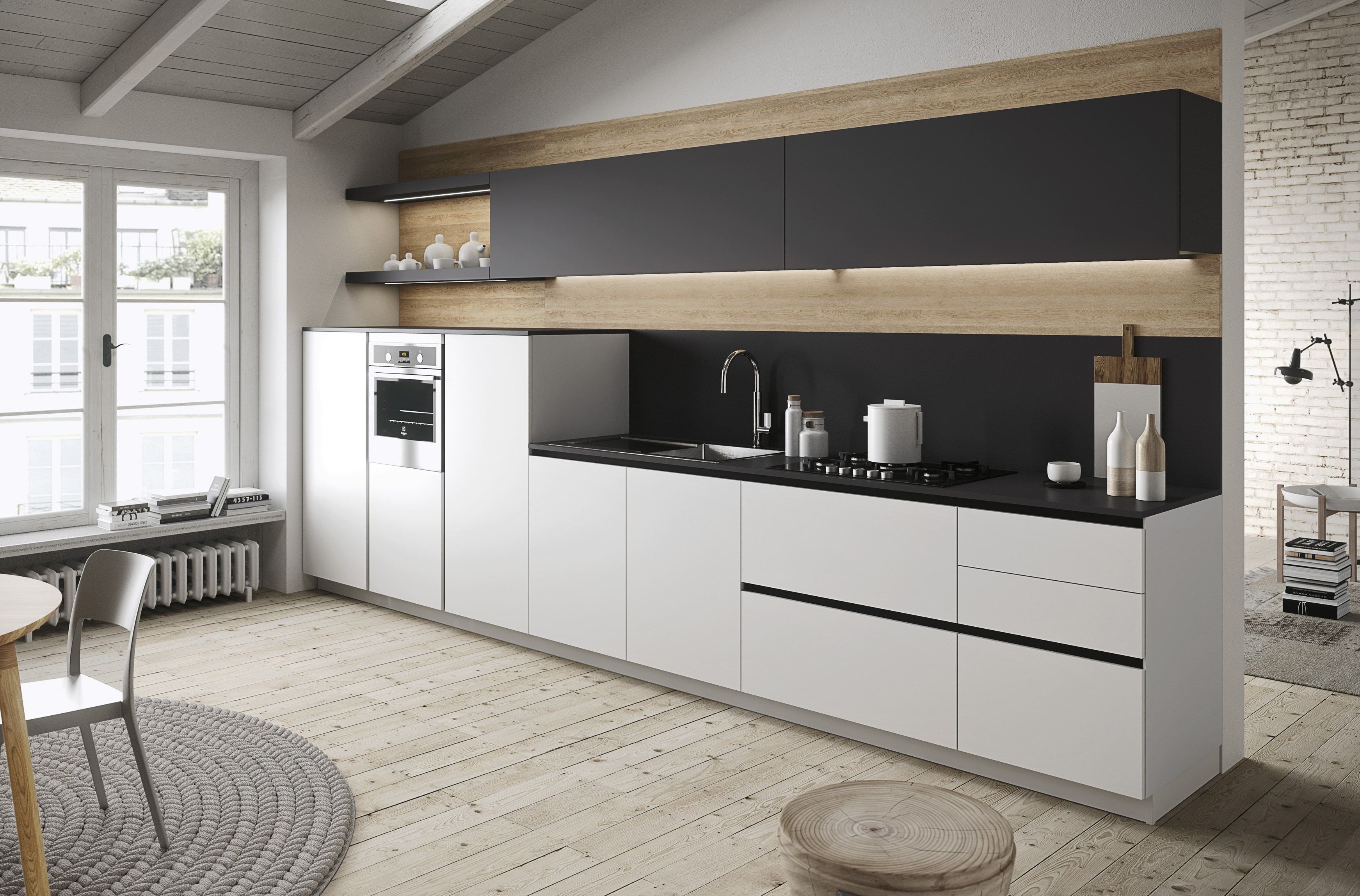 First cuisine de style contemporain by snaidero design for Cocinas minimalistas 2016