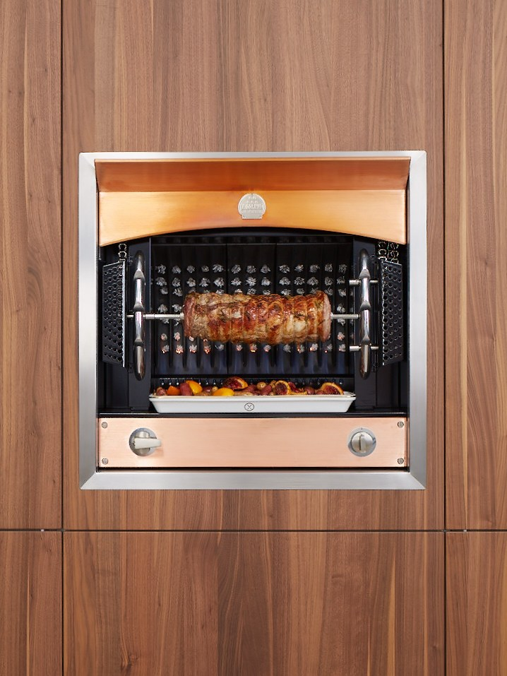 built in oven flamberge rotisserie by la cornue. Black Bedroom Furniture Sets. Home Design Ideas