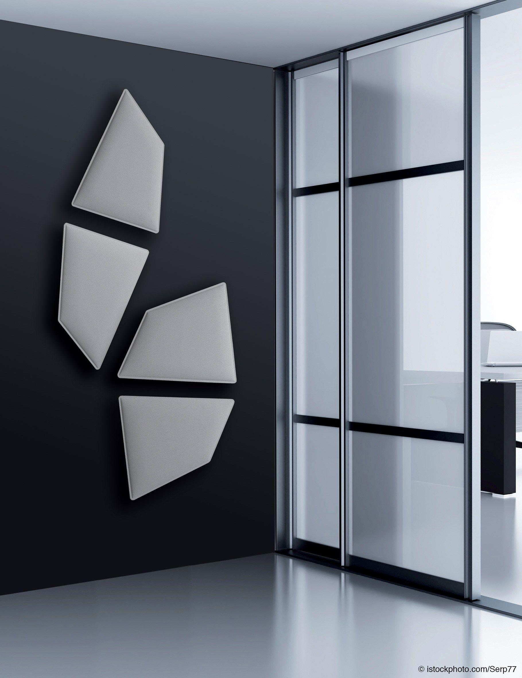 Pannelli decorativi acustici FLAP by Caimi Brevetti design Alberto ...